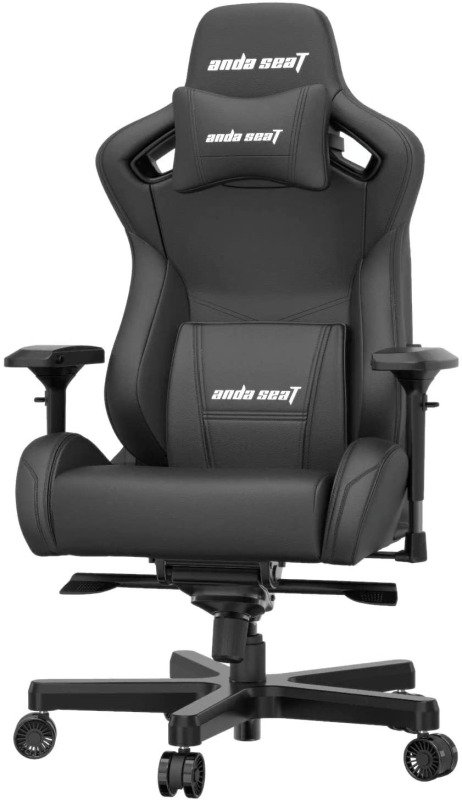 Image of Anda Seat Kaiser Series Pro Gaming Chair Black - Premium Office Chair with Lumbar Back Support