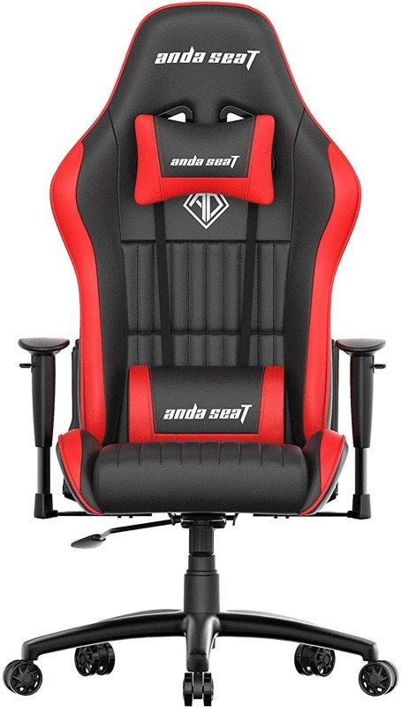Anda Seat Jungle Pro Gaming Chair Red - Office Chair with Arms, Lumbar