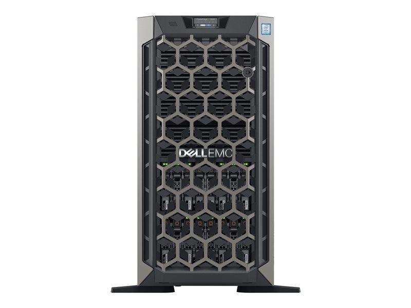 Dell EMC PowerEdge T640 + Win Server 2019 Essential - Tower - Xeon Silver 4210R 2.4 GHz - 16GB