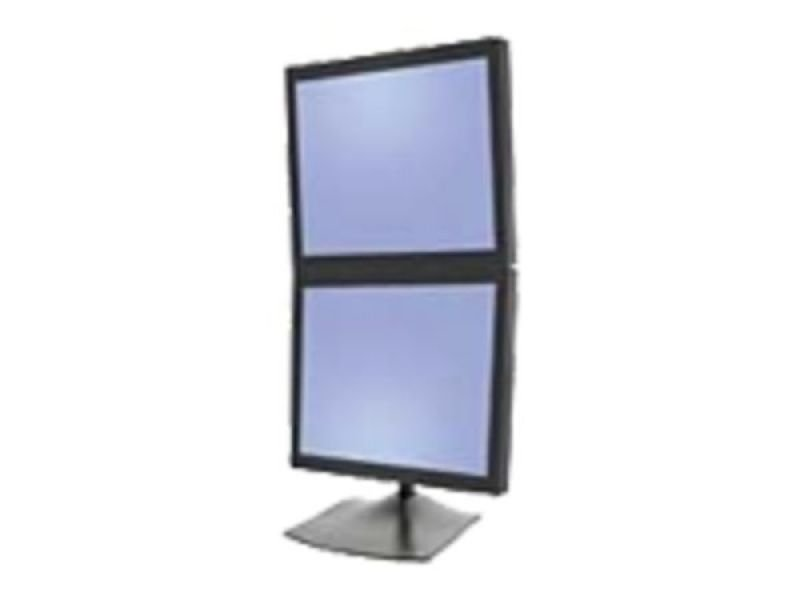 Compare cheap offers & prices of Ergotron DeskStand DS100 Stand for Dual flat panel aluminium steel Black screen size up to 24inch mounting interface 100 x 100 mm 75 x 75 mm manufactured by