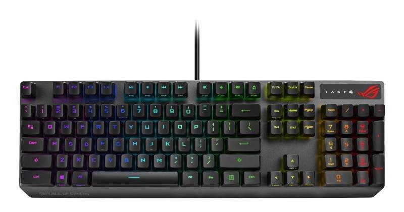 Image of ASUS ROG Strix Scope Rx Optical Gaming Keyboard