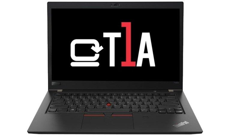 """T1A Refurbished Lenovo ThinkPad T480s Core i5 8GB 256GB SSD 14"""" Win10 Pro Laptop"""