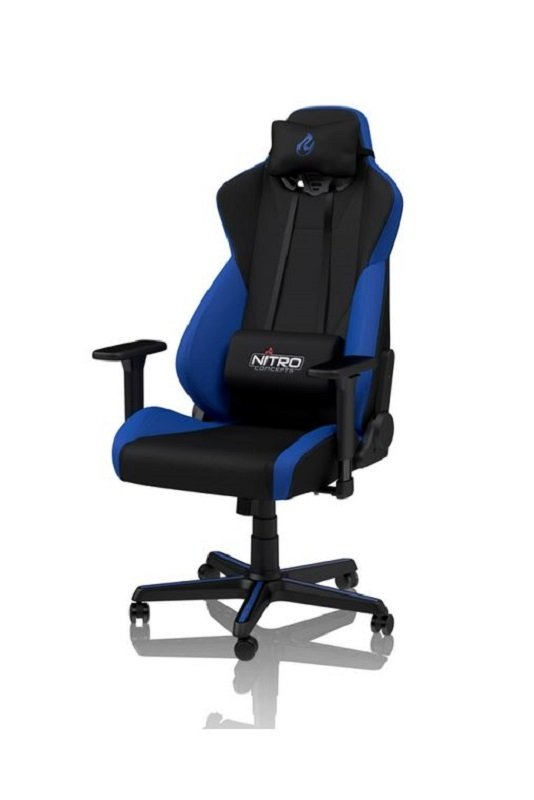 Image of Nitro Concepts S300 Fabric Gaming Chair - Galactic Blue