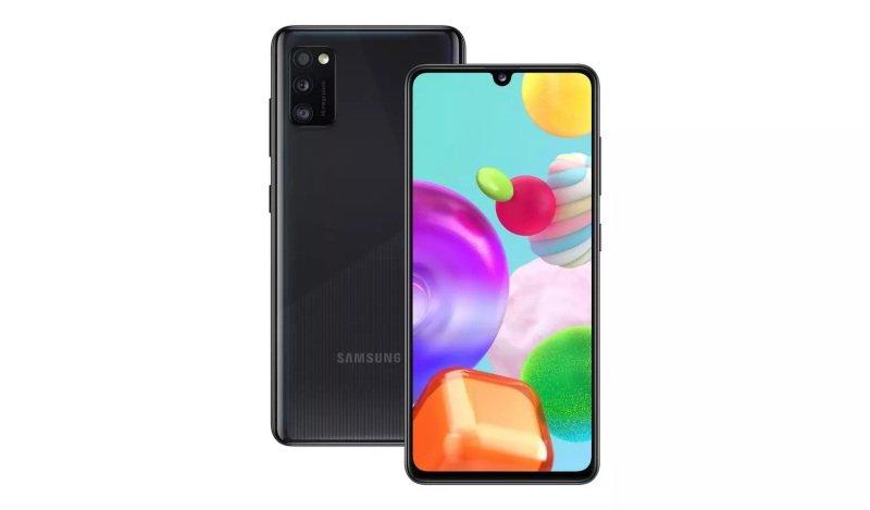 Samsung A41 64GB 6.1'' Smartphone - Black