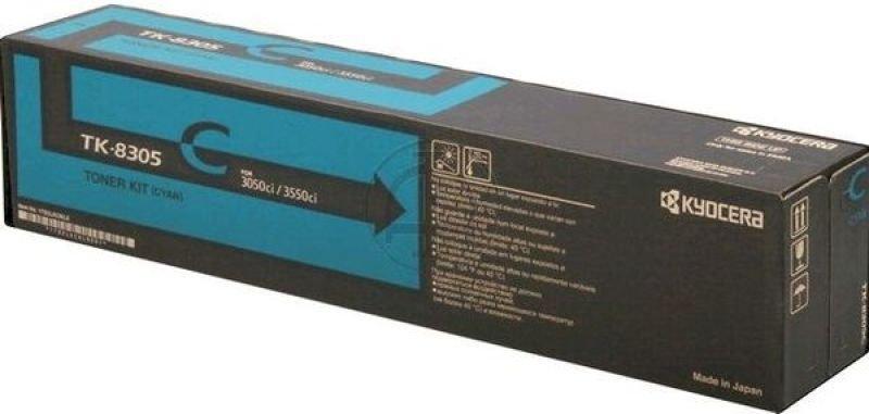 Kyocera TK 8305C Cyan Toner Cartridge