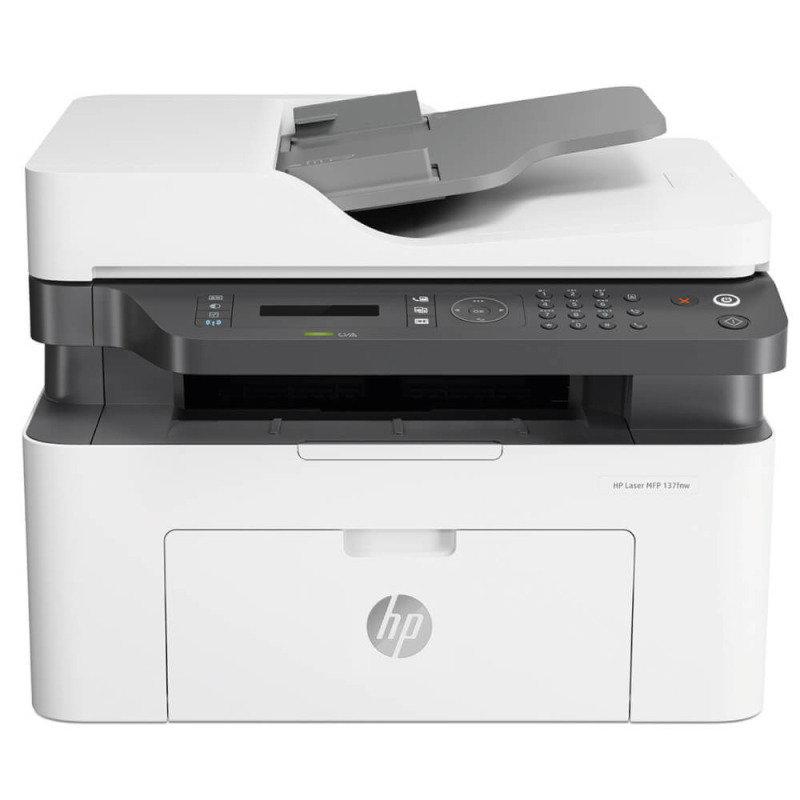 HP Laser MFP 137fnw A4 Mono Multifunction Laser Printer