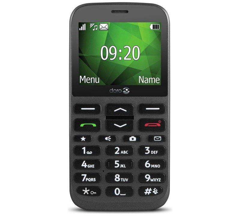 "EXDISPLAY Doro 1370 2.4"" Unlocked - Black"