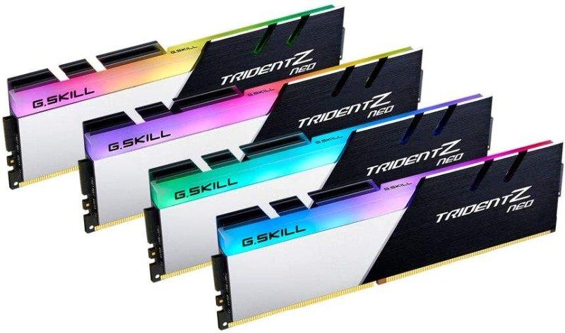 G.SKILL 32GB Trident Z Neo DDR4 3600MHz PC4-28800 CL14 RGB Quad Channel Kit (4x 8GB)