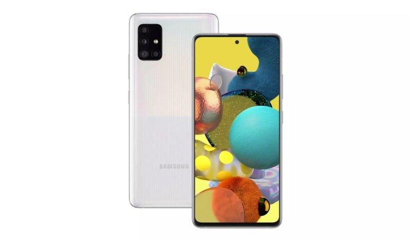 Image of Samsung Galaxy A51 6.5'' 5G 128GB - Cube White