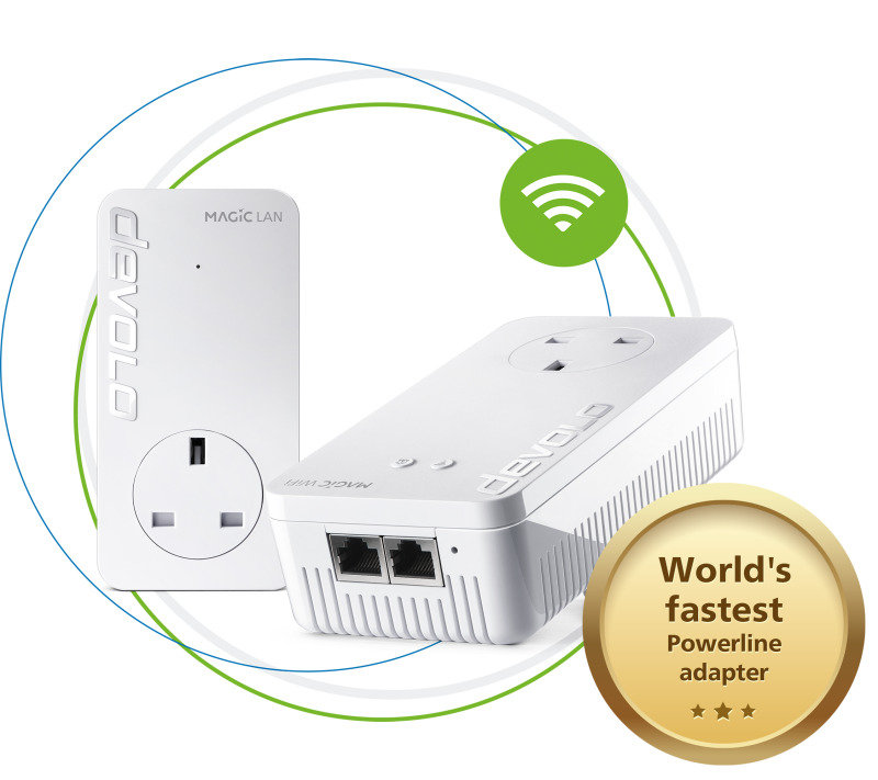 EXDISPLAY Devolo Magic 2 Wi-Fi Next Starter Kit