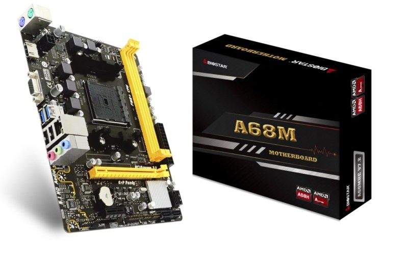Biostar A68MHE AMD A68H mATX Motherboard