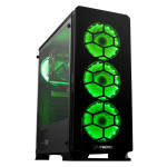 AlphaSync AMD Ryzen 5 8GB RAM 1TB HDD 240GB SSD Gaming Desktop PC