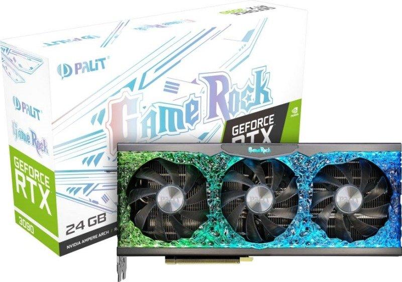 Palit GeForce RTX 3090 GameRock 24GB GDDR6X Ampere Graphics Card