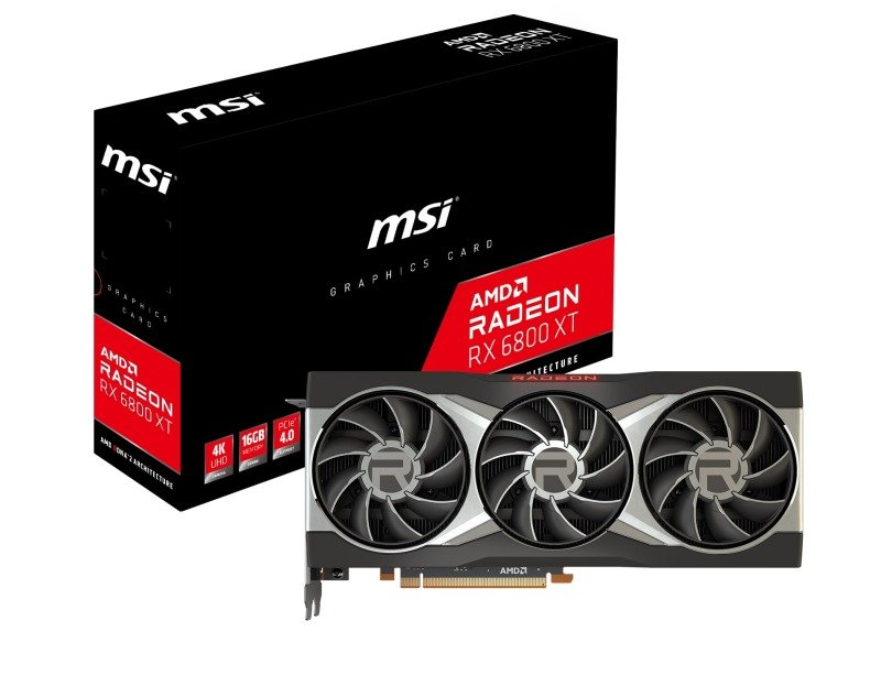 MSI Radeon RX 6800 XT 16GB Graphics Card
