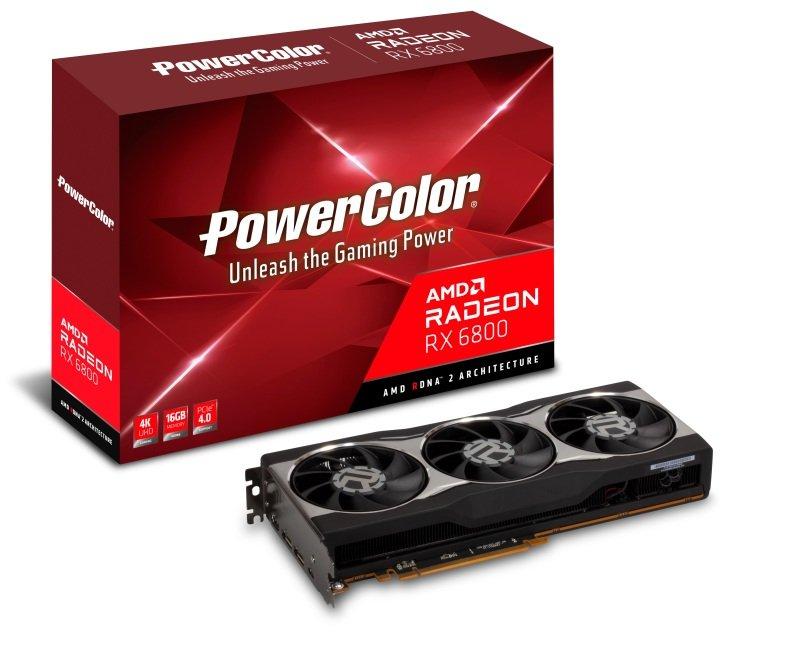 PowerColor Radeon RX 6800 16GB Graphics Card