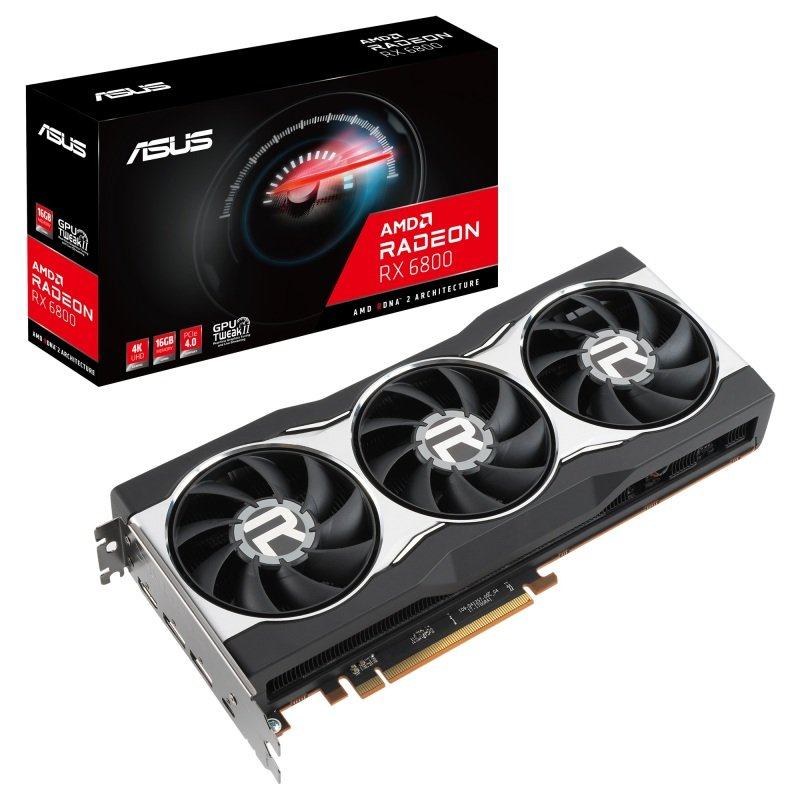 Asus Radeon RX 6800 16GB Graphics Card