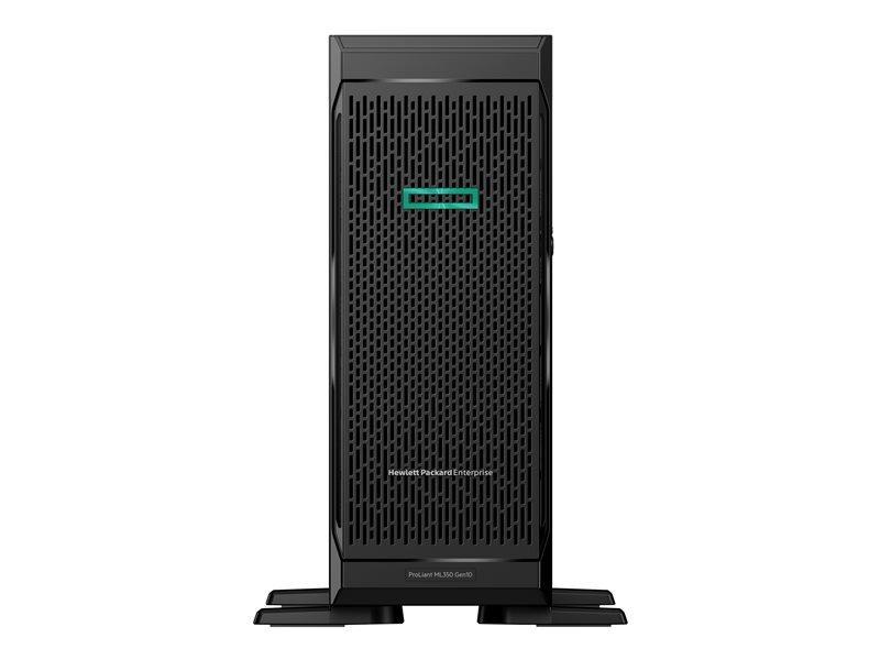 HPE ProLiant ML350 Gen10 Base - Tower - Xeon Silver 4210R 2.4 GHz - 16GB - No HDD