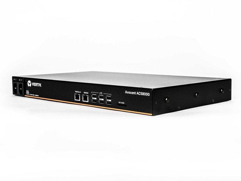Vertiv Avocent 8-Port ACS8000 Console System with Dual AC Power Supply and Analog Modem
