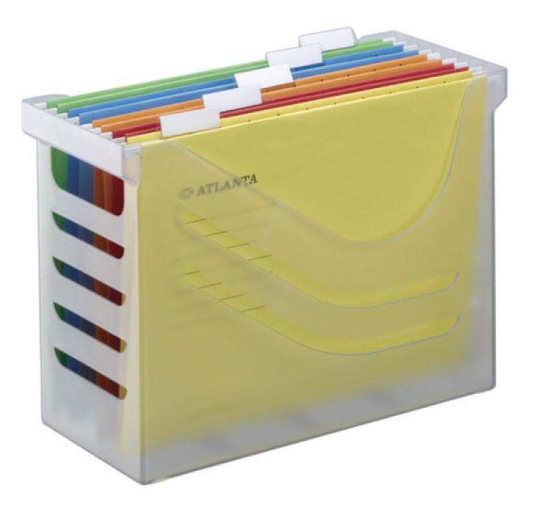 ATLANTA SILKY TCH OFF BOX C/W 5 FILE WHT
