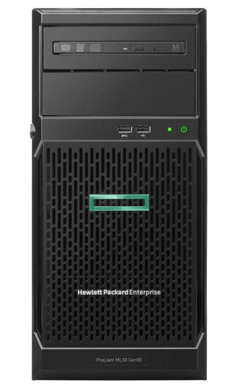 HPE ProLiant ML30 G10 4U Tower Server - 1 x Xeon E-2224 - 8GB RAM HDD SSD