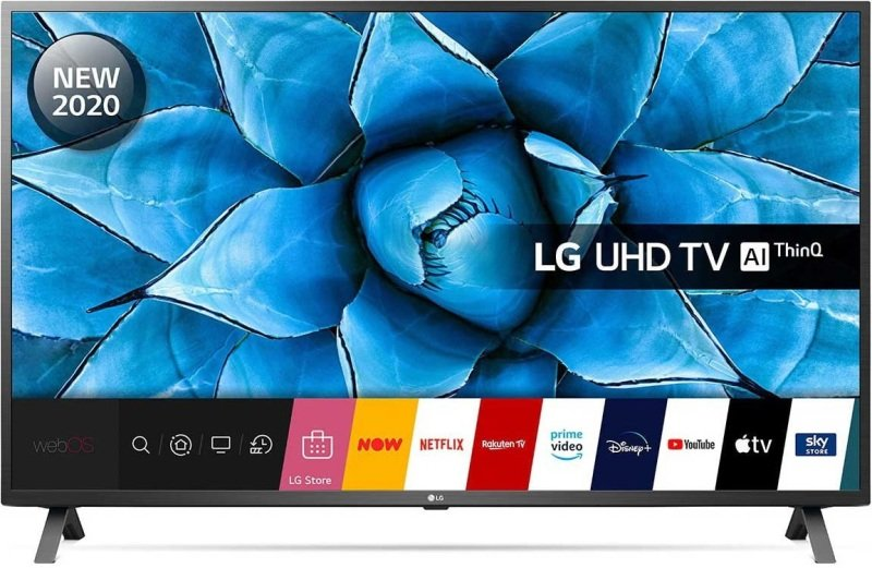 LG 50UN73006LA 50 Smart 4K Ultra HD LED TV with HDR10 Pro