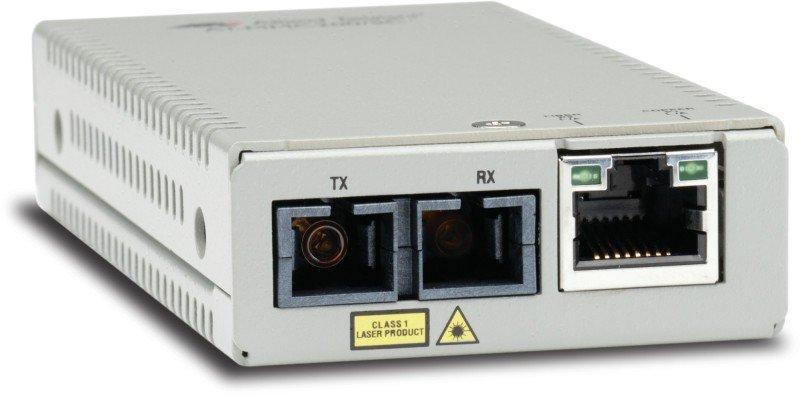 Allied Telesis MMC200/SC Transceiver/Media Converter - TAA Compliant - 2 Ports