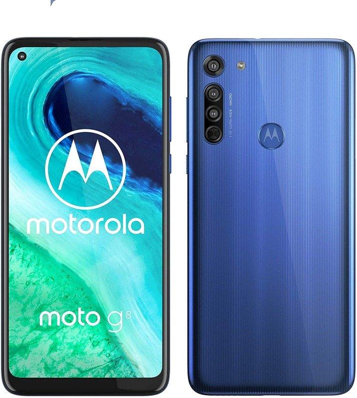 Motorola G8 64GB 6.4'' G8 Smartphone - Neue Blue