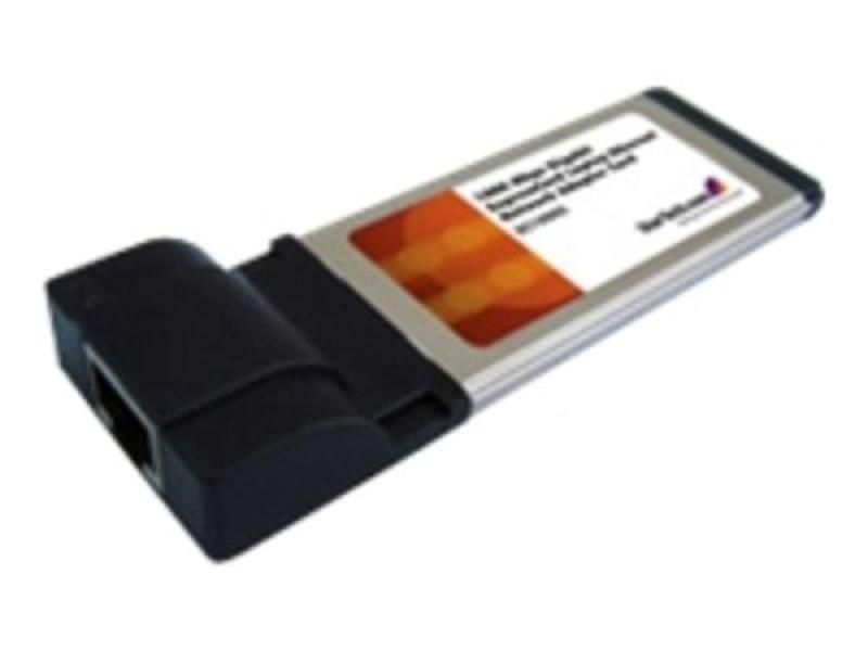 Image of StarTech.com 1 Port ExpressCard Gigabit Laptop Ethernet NIC Network Adapter Card
