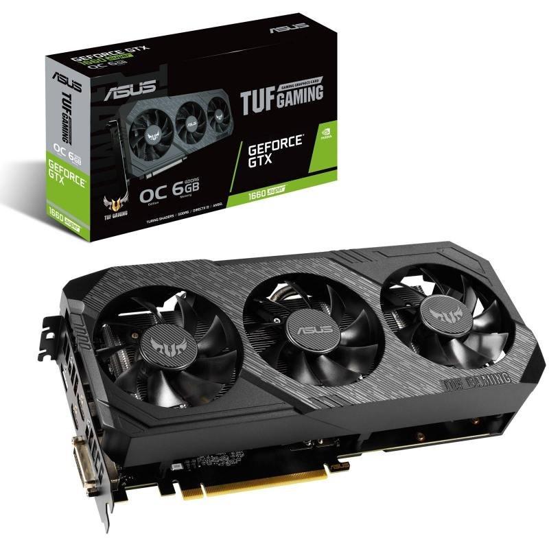 Asus TUF 3 GeForce GTX 1660 6GB OC GAMING Graphics Card