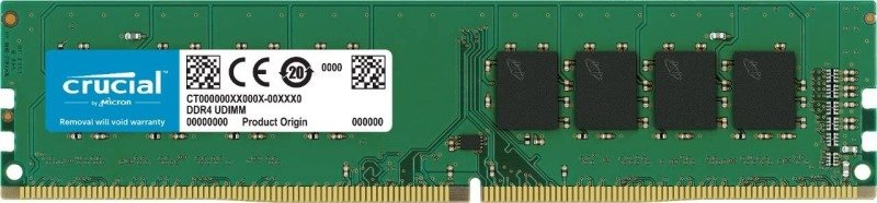 Crucial CT32G4DFD8266 32GB (DDR4, 2666 Mt/s, Dimm, CL19, 288-Pin) Memo