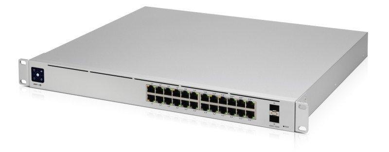 Image of Ubiquiti USW-PRO-24-POE UniFi Gen2 24 Port PoE Gigabit Network Switch