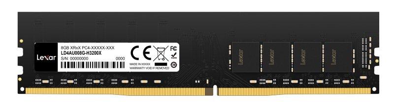 Lexar 8GB DDR4 3200MHz CL19 Udimm