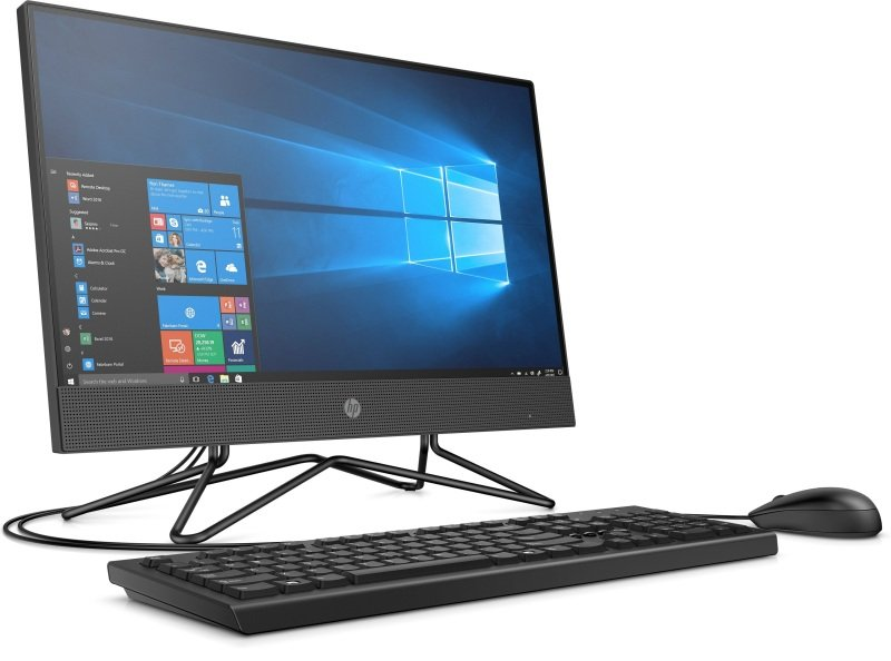 HP 200 G4 22 AIO Core i3 10th Gen 8GB RAM 256GB SSD Win10 Home Desktop PC