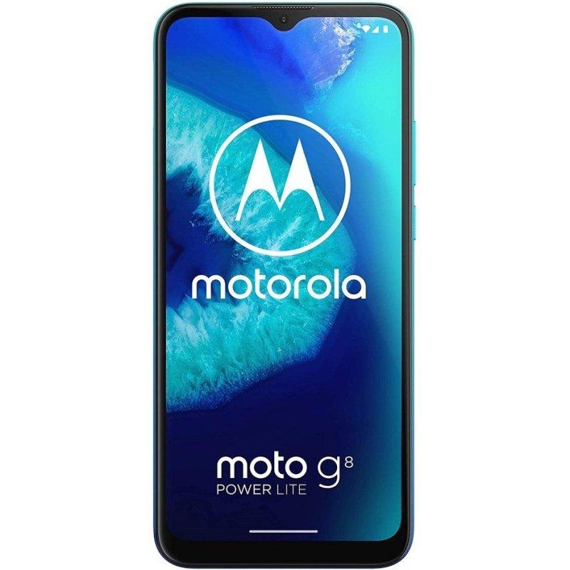 "Motorola G8 Power Lite 6.5"" 64GB 4GB Smartphone - Arctic Blue"