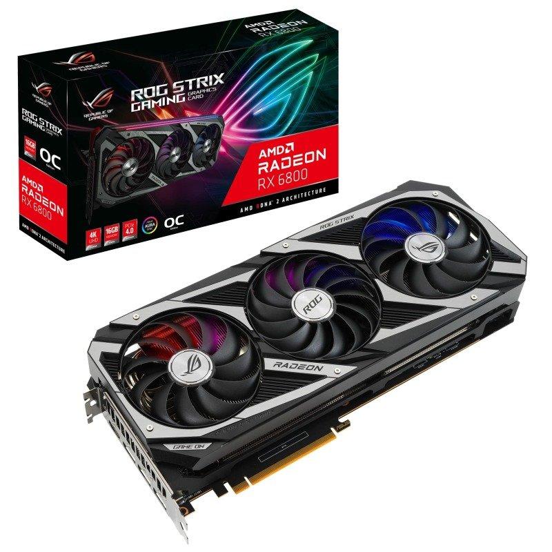 ASUS Radeon RX 6800 16GB ROG STRIX OC Graphics Card
