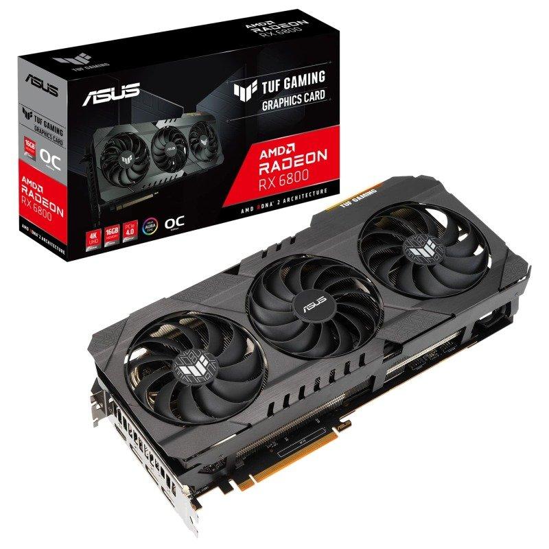ASUS Radeon RX 6800 16GB TUF GAMING OC Graphics Card