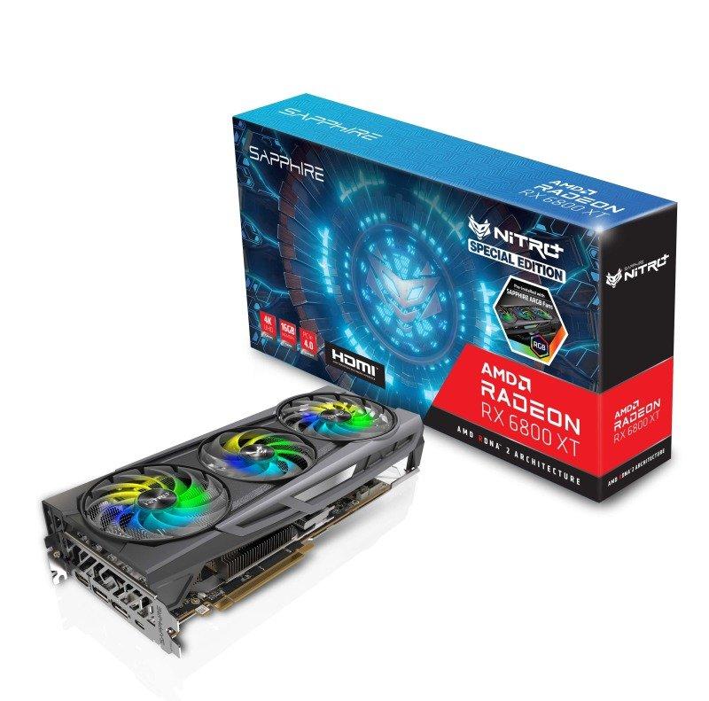 Sapphire NITRO+ Radeon RX 6800 XT OC SE 16GB Graphics Card
