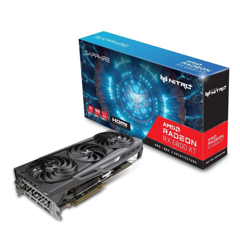 Sapphire NITRO+ Radeon RX 6800 XT OC 16GB Graphics Card