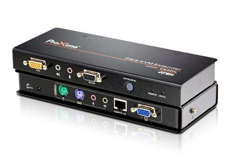 Aten CE350 PS/2 VGA/Audio Cat 5 KVM Extender