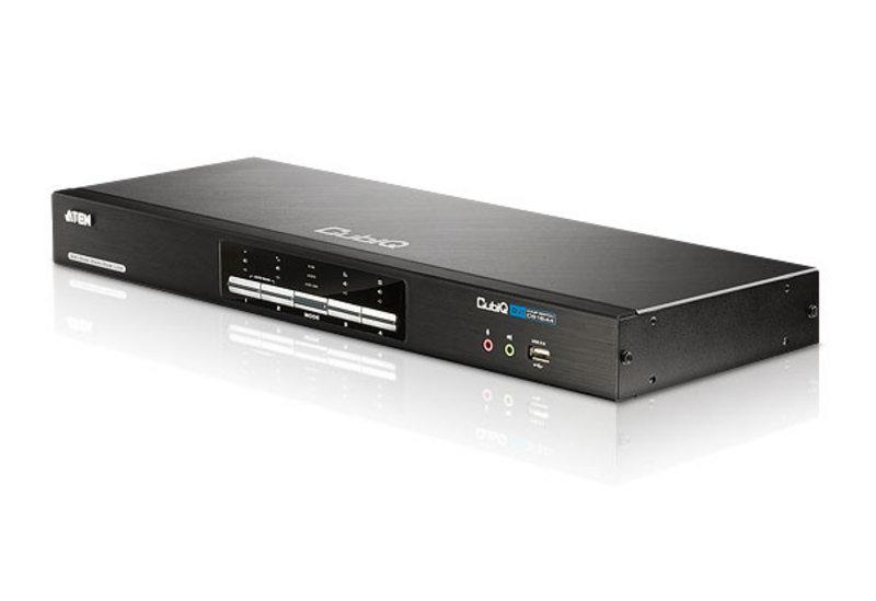 Aten CS1644A 4-Port USB 2.0 DVI Dual View KVMP Switch
