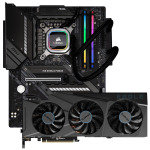 AlphaSync Core i9 10th Gen MAG Z490 Tomahawk 16GB RAM RTX 3080 Hydro H100i Custom PC Bundle