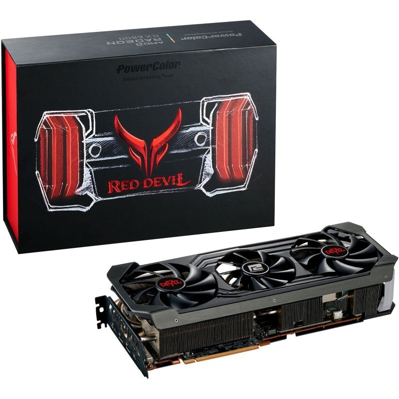 PowerColor Radeon RX 6800 16GB RED DEVIL LIMITED EDITION Graphics Card
