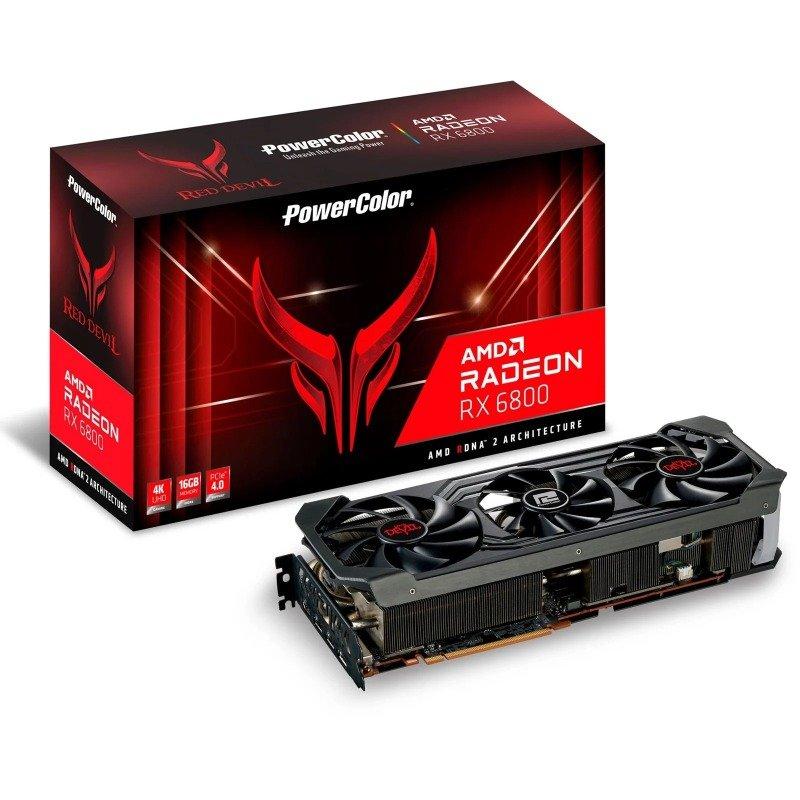 PowerColor Radeon RX 6800 16GB RED DEVIL Graphics Card