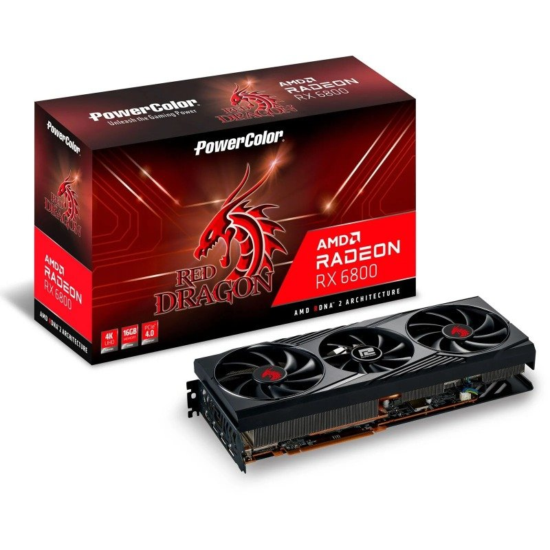 PowerColor Radeon RX 6800 Red Dragon 16GB Graphics Card