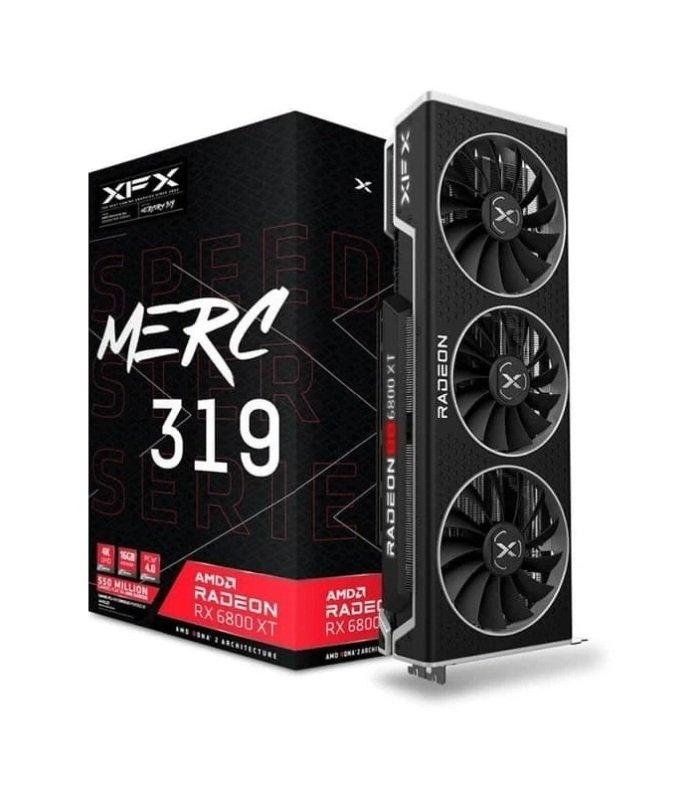 XFX Radeon RX 6800 XT Merc319 BLACK 16GB Graphics Card