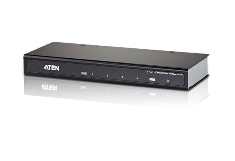 Aten VS184A 4-Port 4K HDMI Splitter