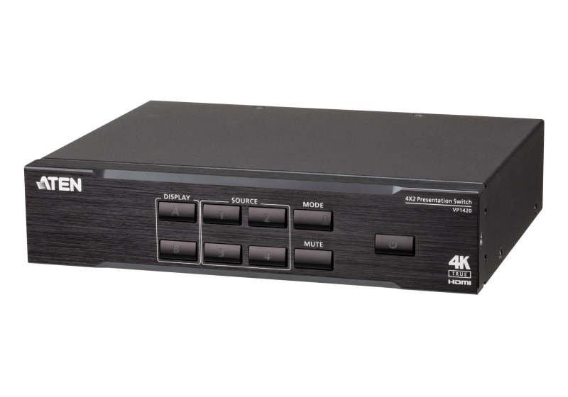 Aten VP1420 4x2 True 4K Presentation Matrix Switch