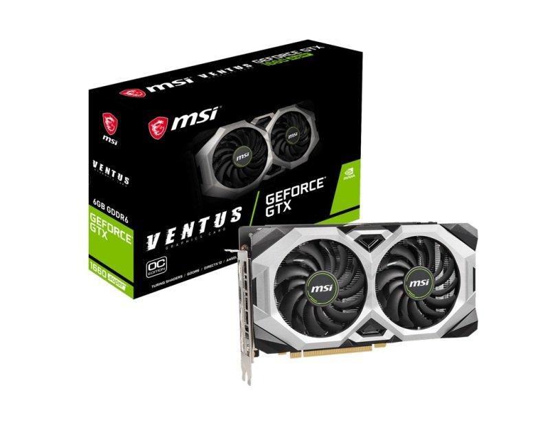 MSI GeForce GTX 1660 SUPER VENTUS 6GB OC Graphics Card