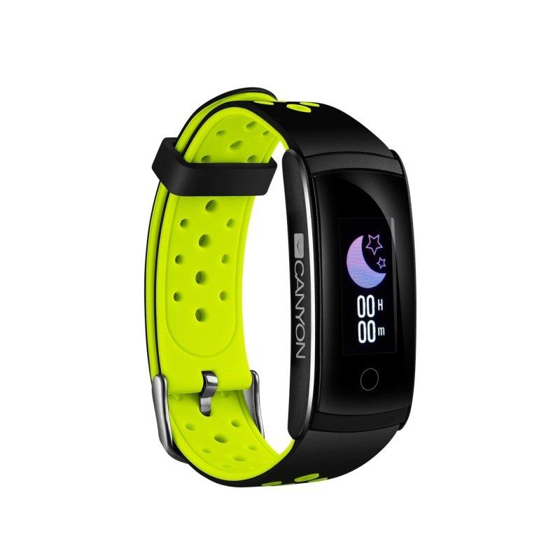 Canyon SB41BG Fitness Smartband - Black/Green
