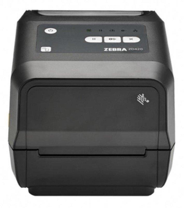 Zebra ZD420 Desktop Thermal Transfer Printer 300DPI - Ethernet